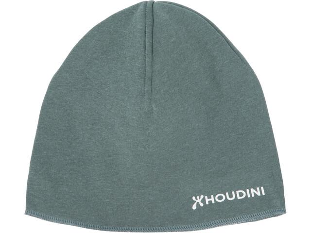Houdini Toasty Top Heather Hat Deeper Green
